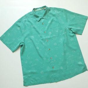 Tommy Bahama Gulf Shore Marlin Men Camp Shirt XLT